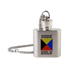 Code Zulu Flask Necklace
