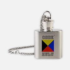 Code Zulu Flask Necklace