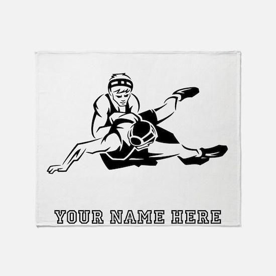 Custom Wrestling Throw Blanket