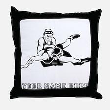 Custom Wrestling Throw Pillow