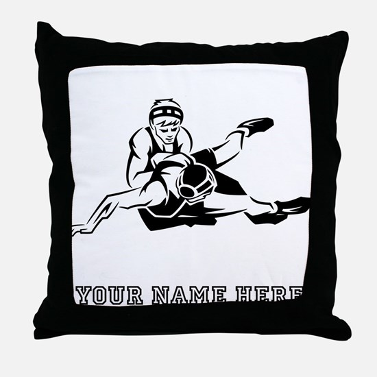 Custom Wrestling Throw Pillow