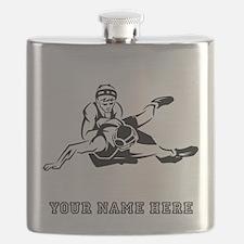 Custom Wrestling Flask