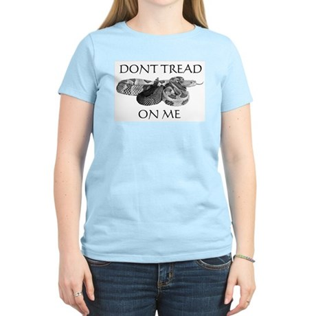 """Don't Tread On Me""/Vote Libertarian"" Woman's T"