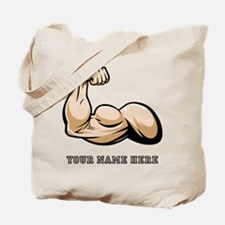 Custom Bicep Flex Tote Bag