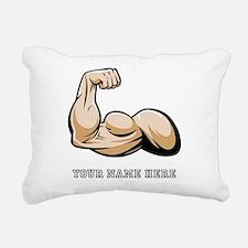 Custom Bicep Flex Rectangular Canvas Pillow