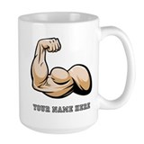 Bicep Large Mugs (15 oz)