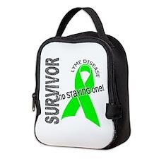 Lyme Disease Survivor1 Neoprene Lunch Bag