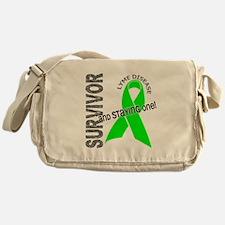 Lyme Disease Survivor1 Messenger Bag