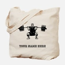 Custom Powerlifter Tote Bag
