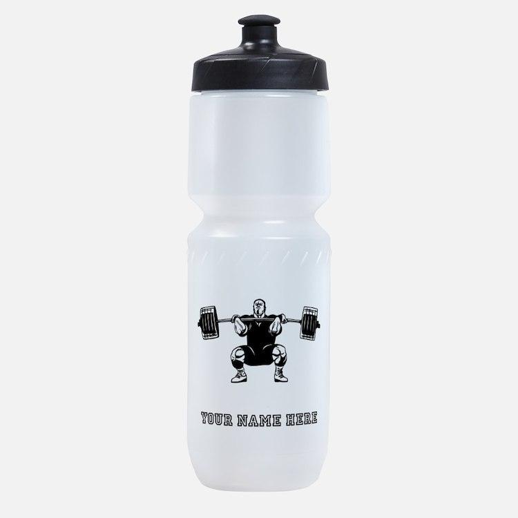 Custom Powerlifter Sports Bottle