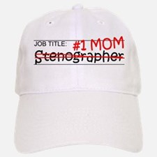 Job Mom Stenographer Baseball Baseball Cap