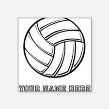 Custom Volleyball Sticker