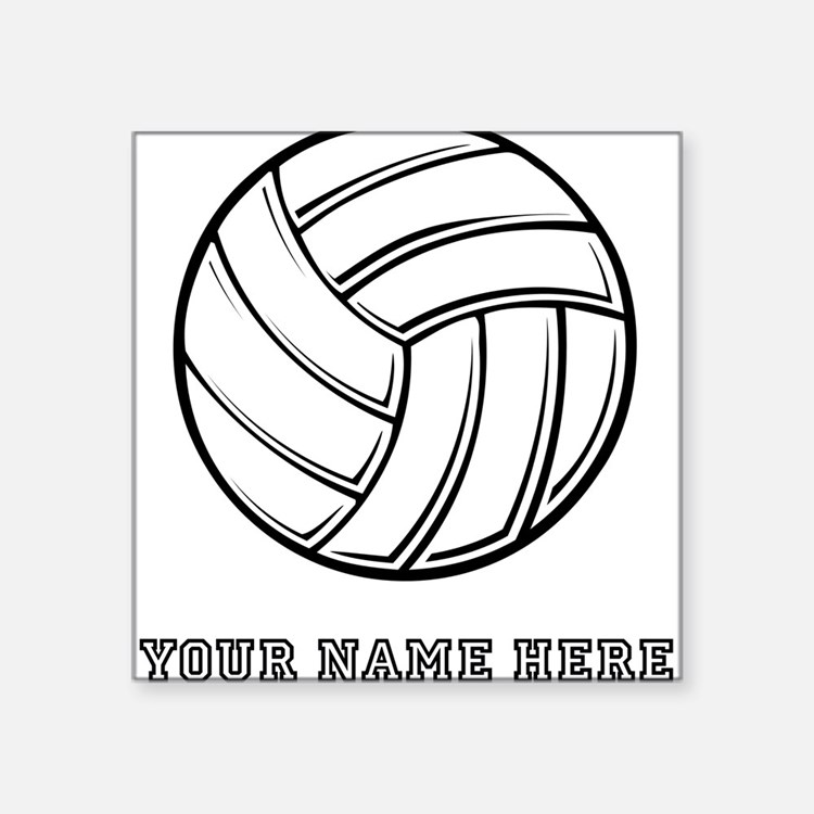 Volleyball Bumper Stickers Car Stickers Decals  More - Custom volleyball car magnets