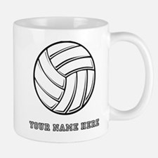 Custom Volleyball Mugs