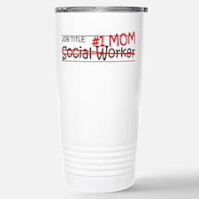 Job Mom Social Worker Travel Mug