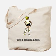 Custom Indoor Volleyball Player Tote Bag