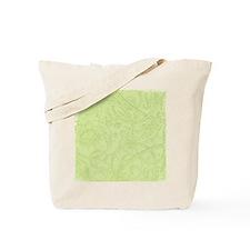 Vintage Floral Greens Tote Bag