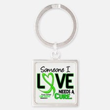 Lyme Disease Needs a Cure 2 Square Keychain