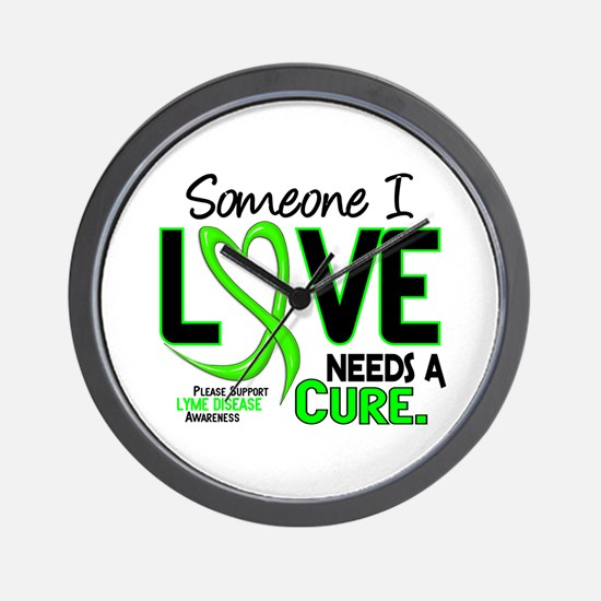 Lyme Disease Needs a Cure 2 Wall Clock