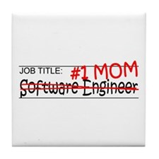 Job Mom Software Eng Tile Coaster
