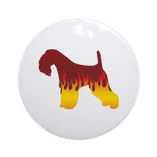 Lakeland Flames Ornament (Round)