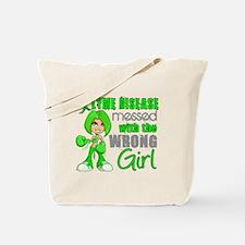 Lyme Disease MessedWithWrongGirl Tote Bag