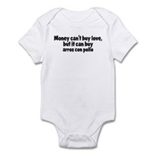 arroz con pollo (money) Infant Bodysuit