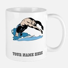 Custom Backstroke Dive Mugs
