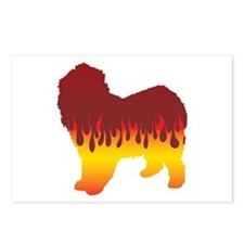 Lagotto Flames Postcards (Package of 8)