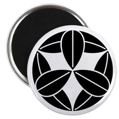 """Nine bamboo leaves 2.25"""" Magnet (100 pack)"""