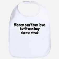 cheese steak (money) Bib