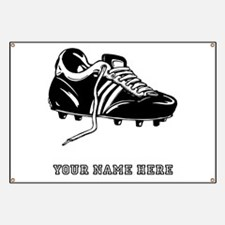 Custom Soccer Cleat Banner