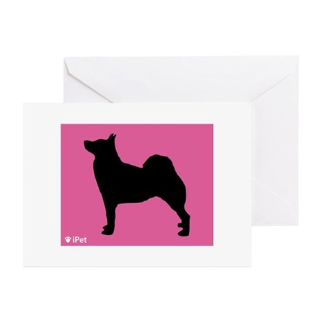 Buhund iPet Greeting Cards (Pk of 10)