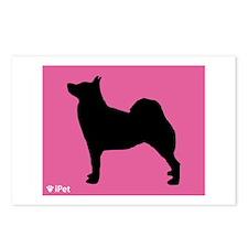Buhund iPet Postcards (Package of 8)