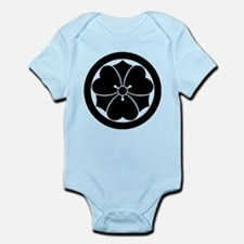 Wood sorrel with swords in circle Infant Bodysuit