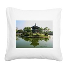 Kings Retreat Square Canvas Pillow