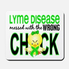 Lyme Disease MessedWithWrongChick1 Mousepad