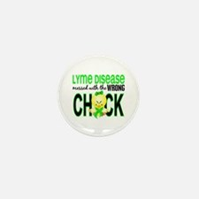 Lyme Disease MessedWithWrong Mini Button (10 pack)