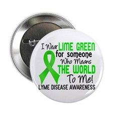 "Lyme Disease MeansWorldToMe2 2.25"" Button"