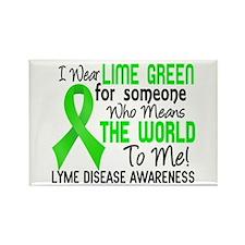 Lyme Disease MeansWorldToMe2 Rectangle Magnet
