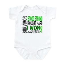 Lyme Disease Survivor 4 Infant Bodysuit