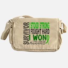 Lyme Disease Survivor 4 Messenger Bag