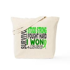 Lyme Disease Survivor 4 Tote Bag