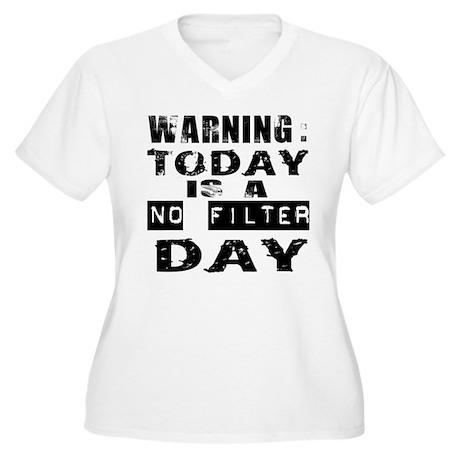No Filter Plus Size T-Shirt