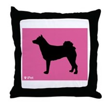 Norrbottenspets iPet Throw Pillow