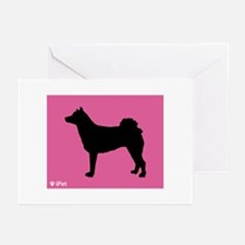 Norrbottenspets iPet Greeting Cards (Pk of 10)