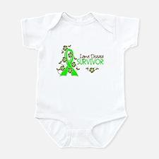 Lyme Disease Survivor 3 Infant Bodysuit