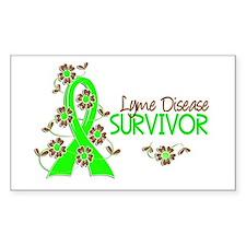 Lyme Disease Survivor 3 Decal