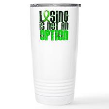 Lyme Disease LosingNotO Travel Coffee Mug