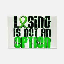 Lyme Disease LosingNotOption1 Rectangle Magnet